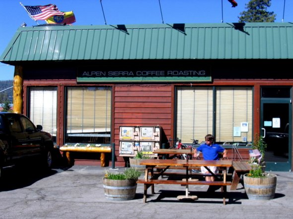 Alpen Sierra Coffee Company in South Lake Tahoe, California