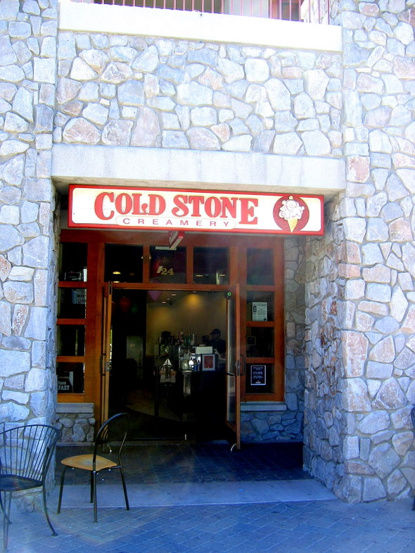 Cold Stone Creamery in South Lake Tahoe, California