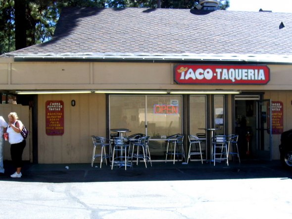 Taco Taqueria in South Lake Tahoe, California