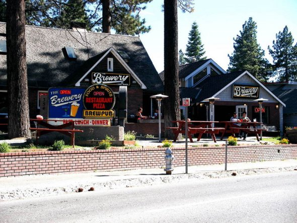 Brewery at Lake Tahoe in South Lake Tahoe, California
